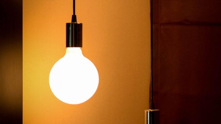 two hanging bulbs