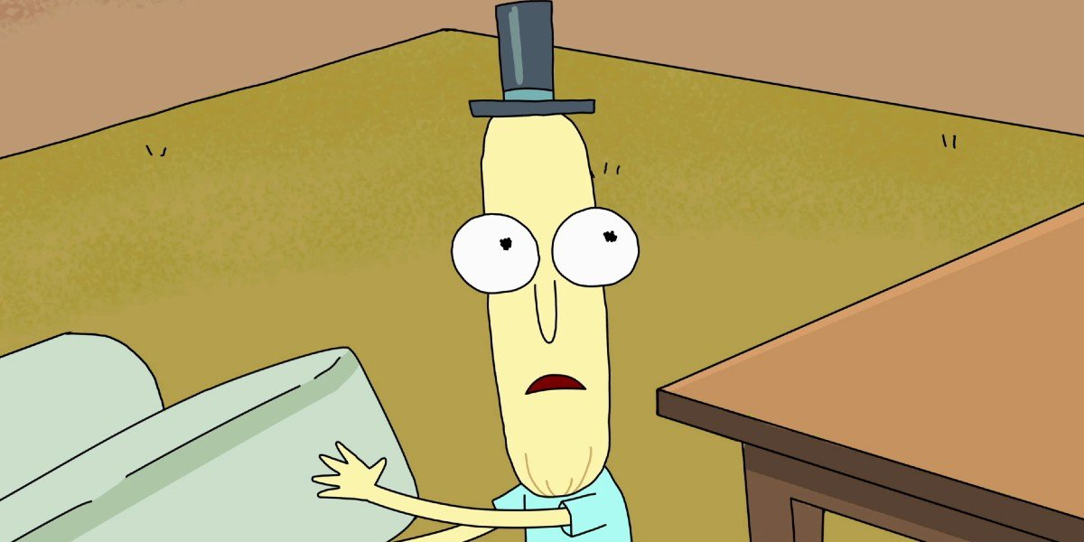 Mr. Poopybutthole Rick and Morty Adult Swim