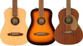 Fender California Series Mini Acoustics
