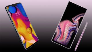 Lg V40 Thinq Vs Galaxy Note 9 Techradar