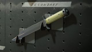 The combat knife from Call of Duty: Black Ops - Cold War