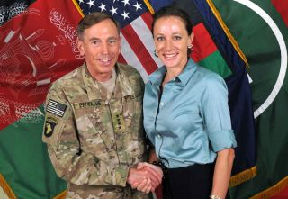 Gen. David Petraeus and his biographer Paula Broadwell