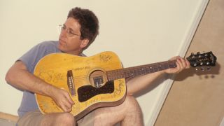 Jack Sherman guitarist for the Red Hot Chili Peppers poses for a portrait in Los Angeles, California on June 1, 1998.