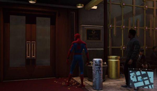 The Wakandan Embassy in Marvel's Spider-Man