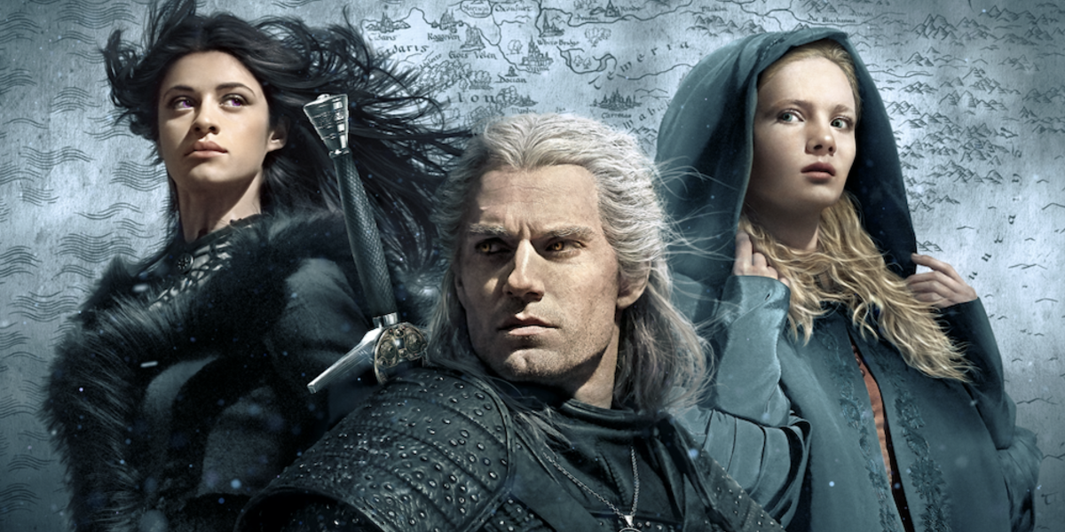 the witcher netflix poster yennefer geralt ciri