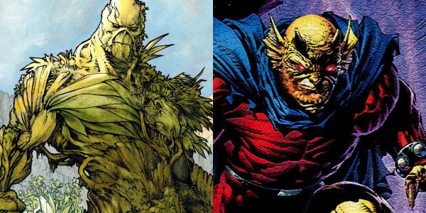 Justice League Dark Swamp Thing Etrigan The Demon