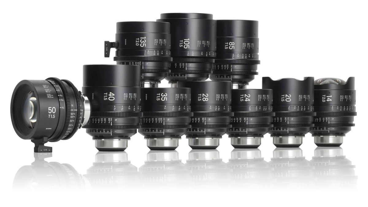 Sigma announces prices for its new Classic Primes and i/Tech Cine lenses