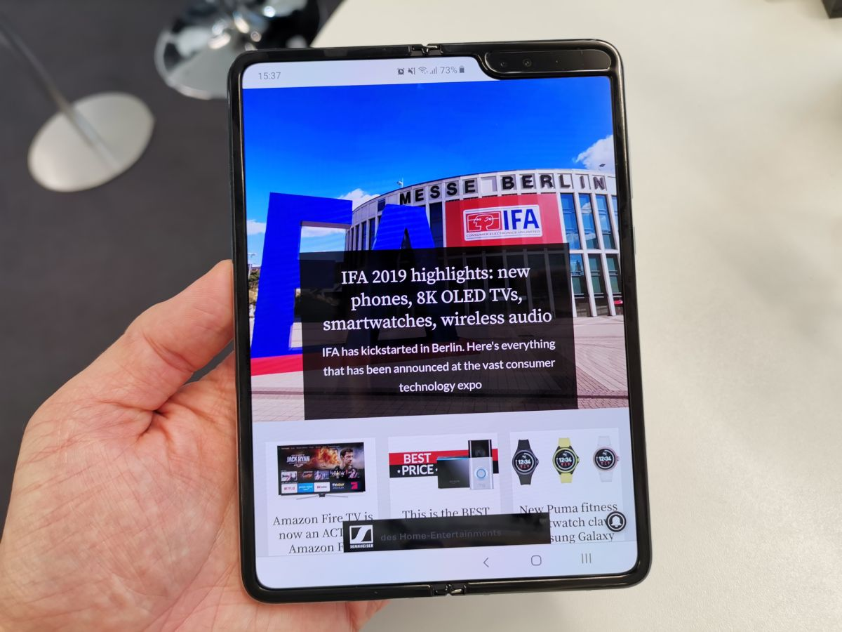 Samsung Galaxy Fold review (early verdict): the new