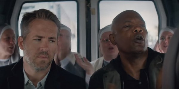 The Hitman's Bodyguard Sam Jackson Ryan Reynolds