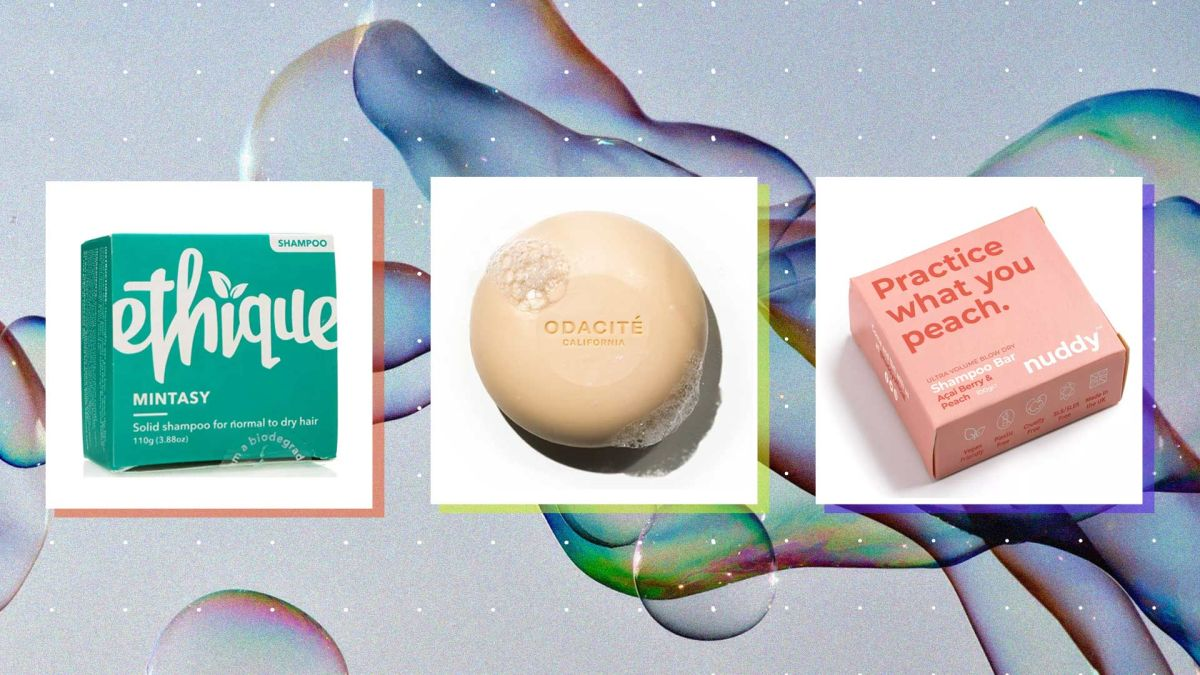 6 solid shampoo bars to nourish and hydrate all hair types