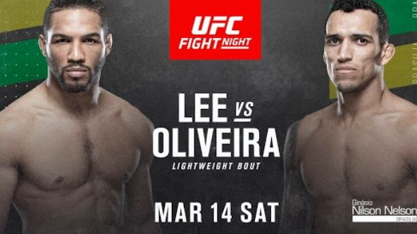 How to watch UFC Fight Night 170 online with a Lee vs Oliveira live stream
