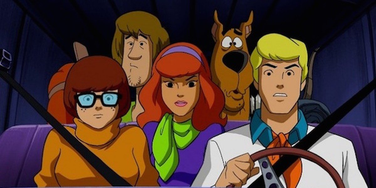 Scooby-Doo and the gang.