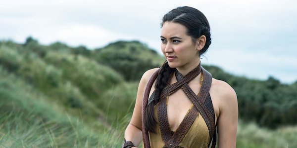 Nymeria Sand on a hill