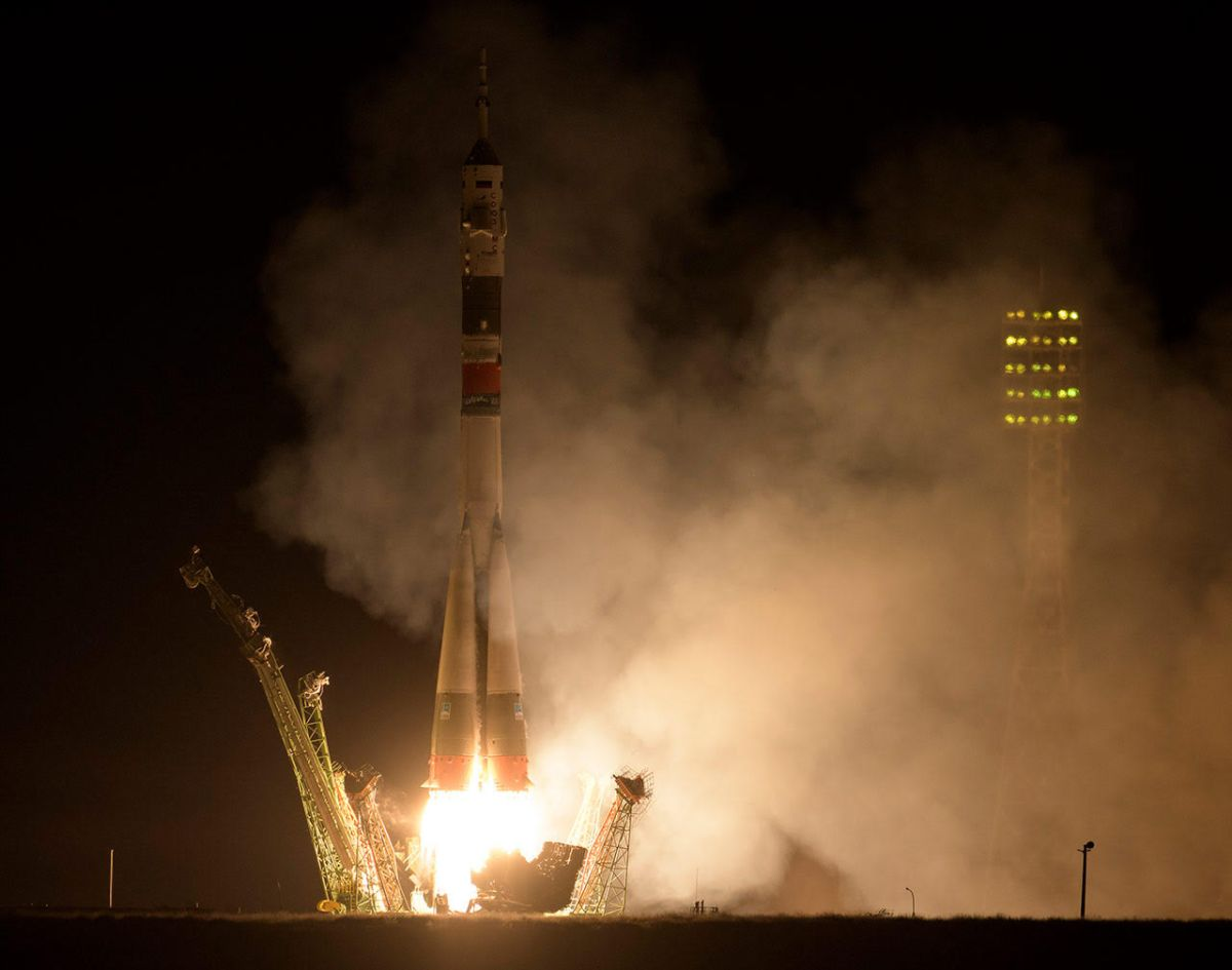 First UAE Astronaut Lifts Off with US and Russian Space Station Crew