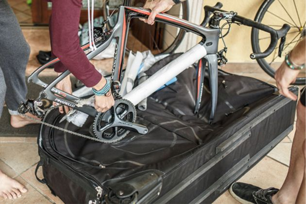 Pinarello bike bag