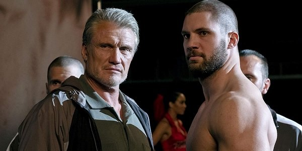 Creed II Ivan and Viktor Drago look ready to fight