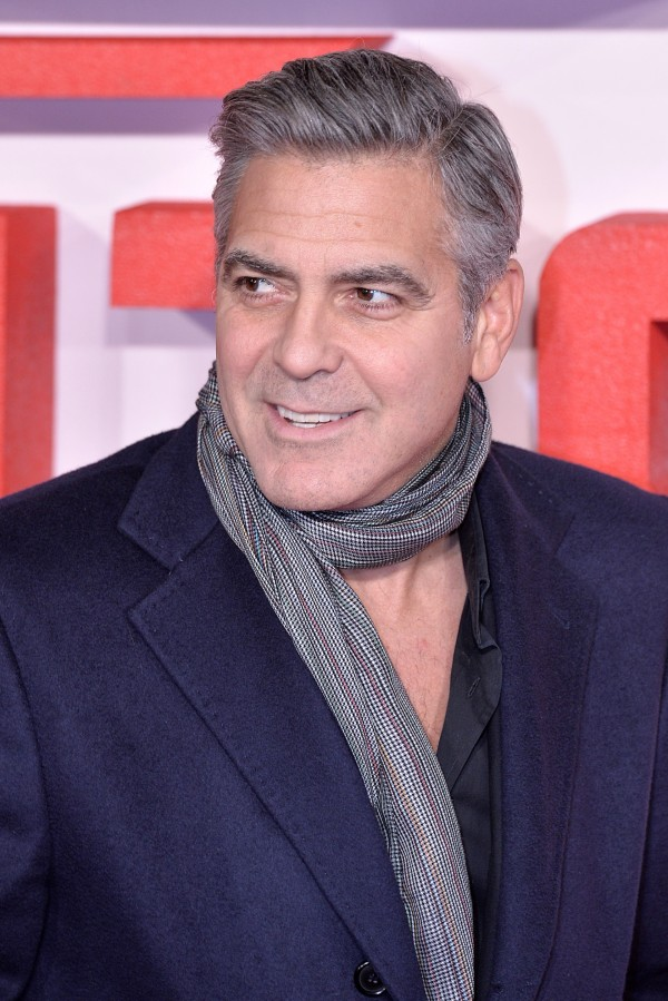 Previous winner George Clooney