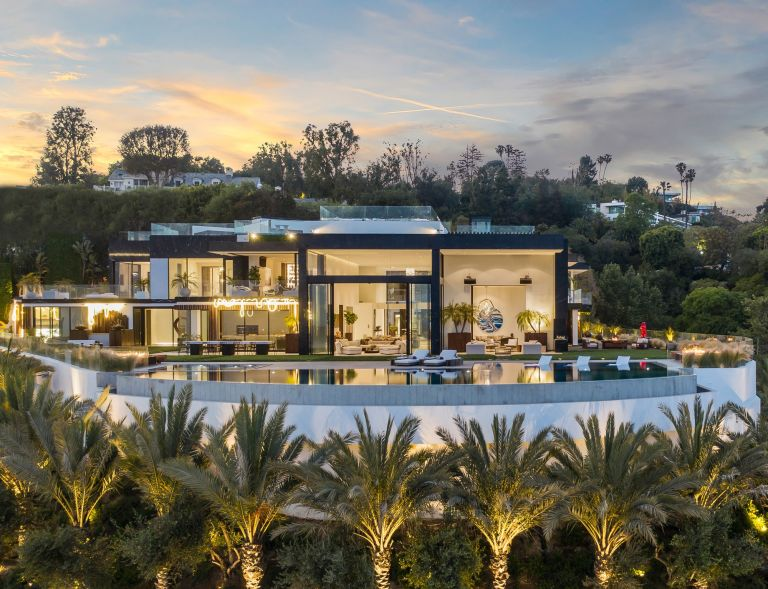 mansion in Bel Air