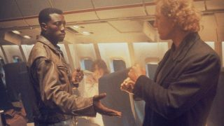 """Wesley Snipes and Burce Payne in 1992's """"Passenger 57."""""""