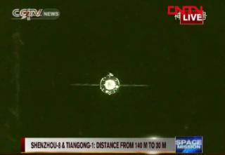 Tiangong 1 Shenzhou 8 docking