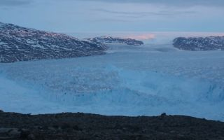 It only took 30 minutes for an iceberg nearly half the size of Manhattan to separate from a glacier in Greenland.