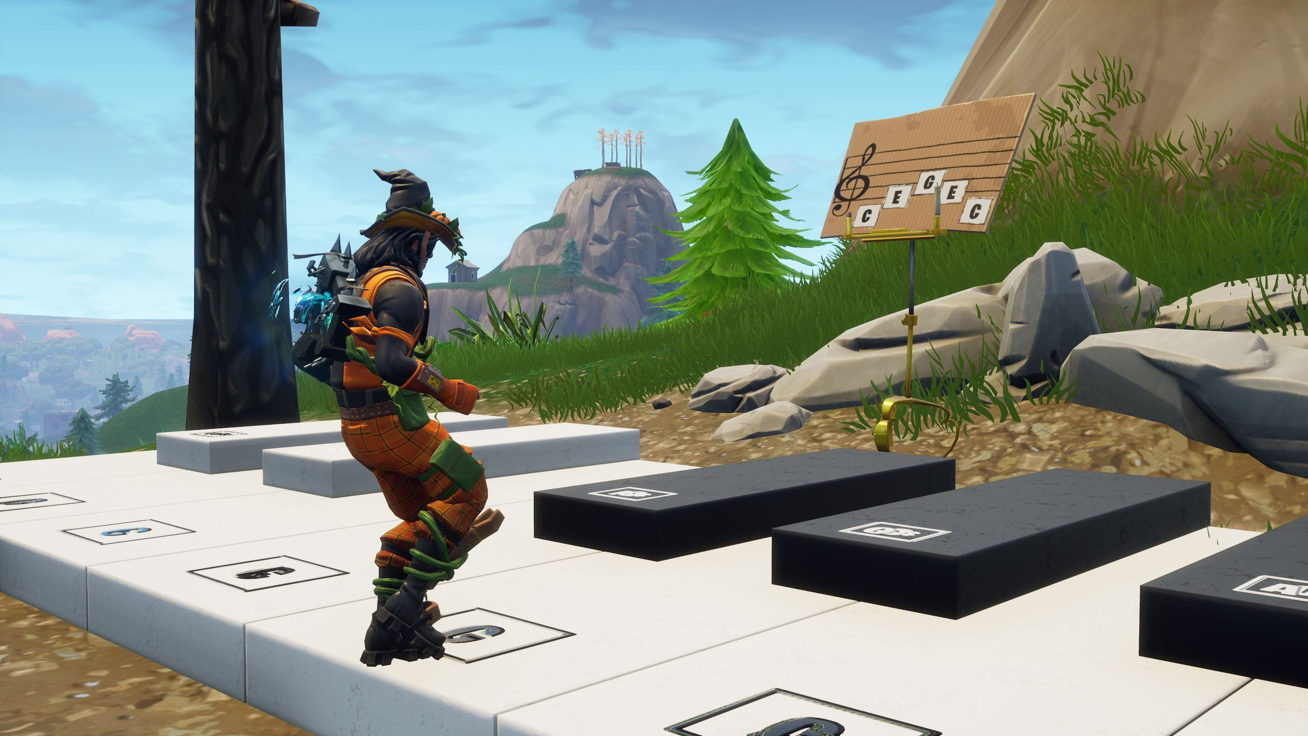 Where to find and play Fortnite's sheet music