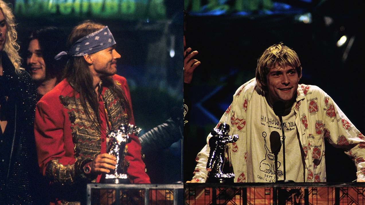 The story of Axl Rose and Kurt Cobain's MTV bust-up, by