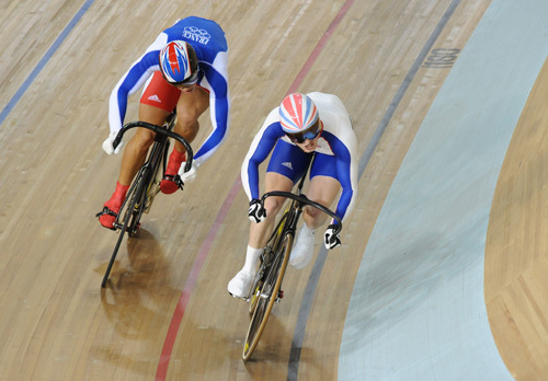 Jason Kenny Kevin Sireau sprint Olympics 2008