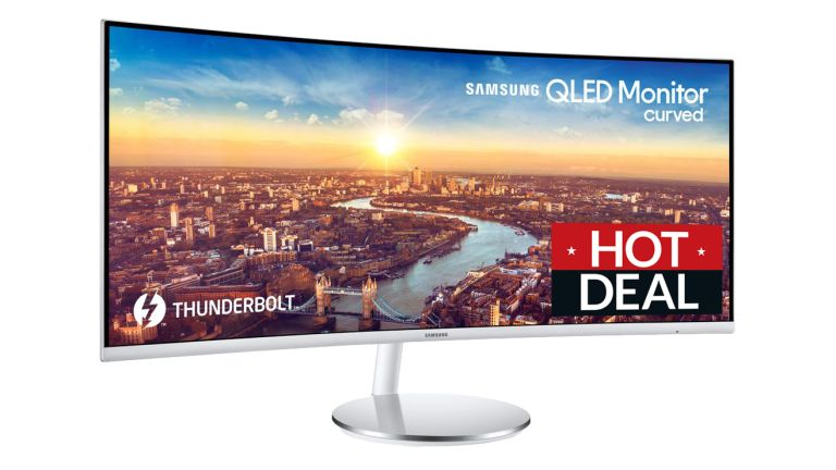 Samsung monitor deal: Curved 34-inch LED display gets BIG £250 price cut