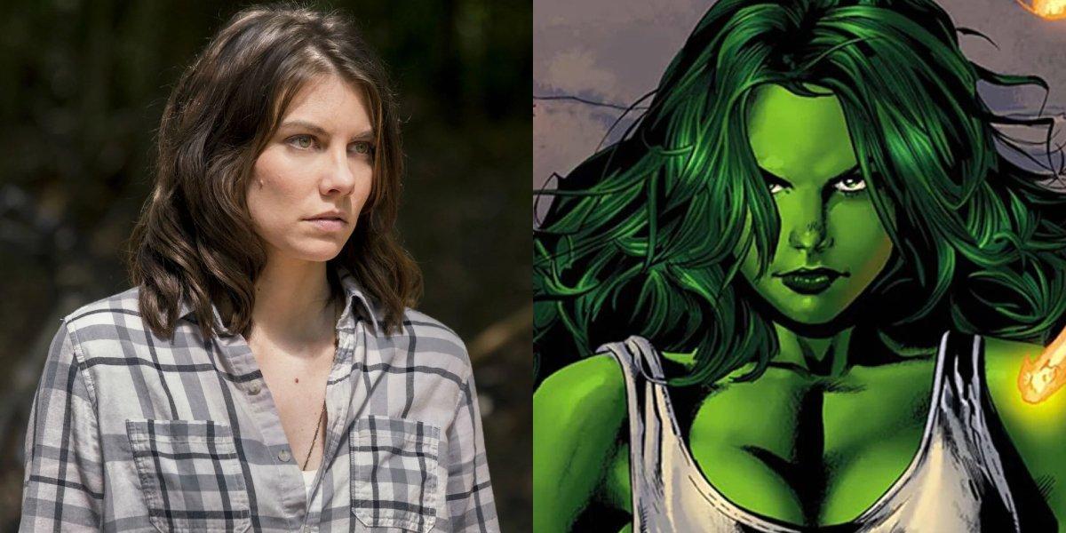 Lauren Cohan and She-Hulk