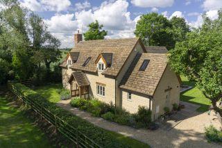 an oak frame house created by border oak
