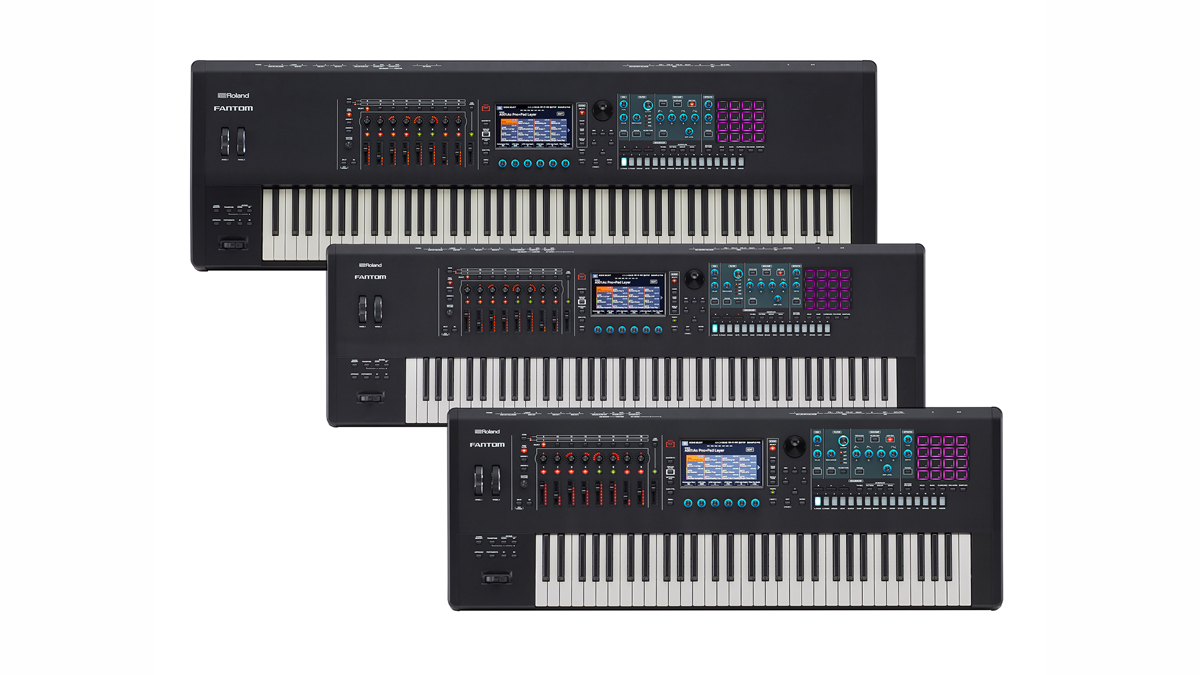 Roland redesigns its Fantom performance and production