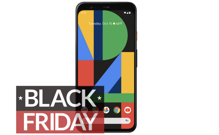 Google Pixel 4 Black Friday Best Buy deals