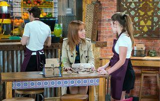 Kayla's mum in Coronation Street will be familiar to soap fans