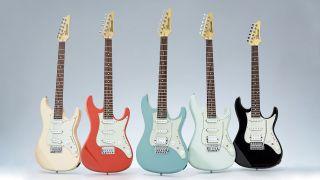 Ibanez AZES guitars