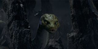 Kaa played by Cate Blanchett in Mowgli: Legend of the Jungle