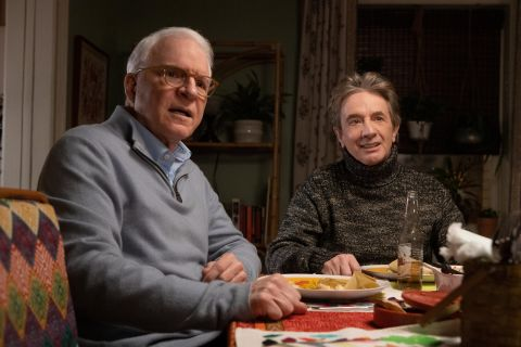 Steve Martin and Martin Short in 'Only Murders in the Building'.