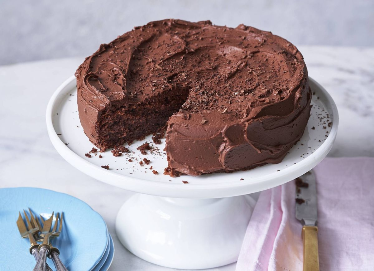 Get your chocaholic fix with our easy gooey gluten-free chocolate cake
