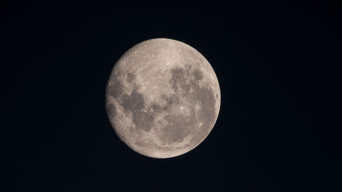 The (Nearly) Full Moon of August 2019 Wowed Astronauts in