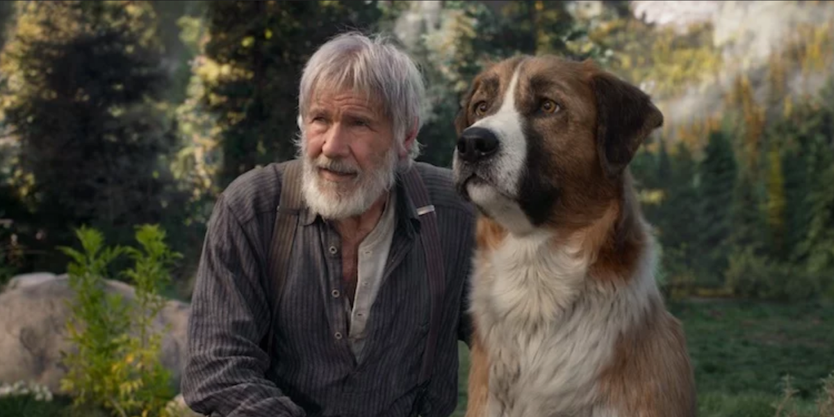 the call of the wild harrison ford cgi dog