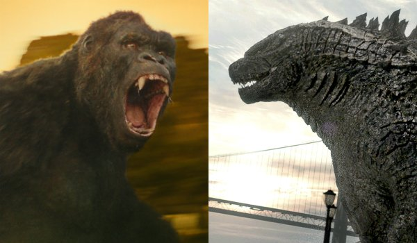 Kong and Godzilla