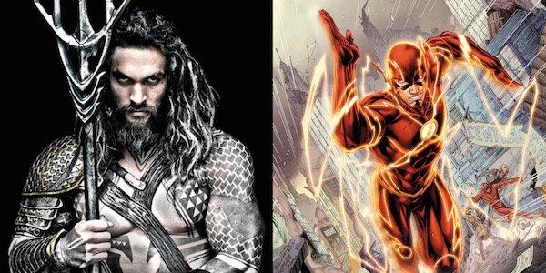 aquaman and flash