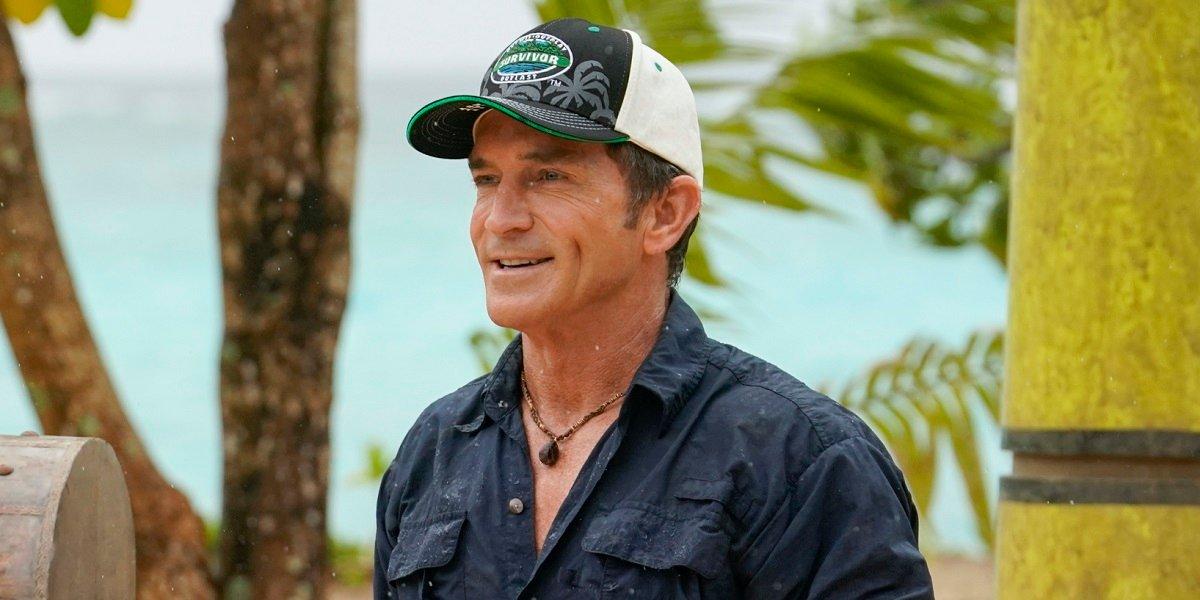 Jeff Probst Survivor CBS