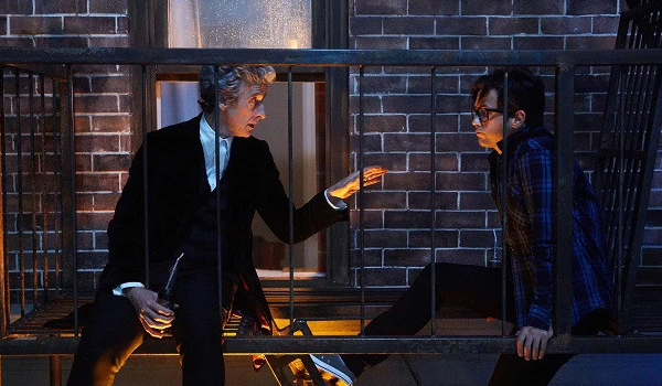 Doctor Who The Doctor and Grant
