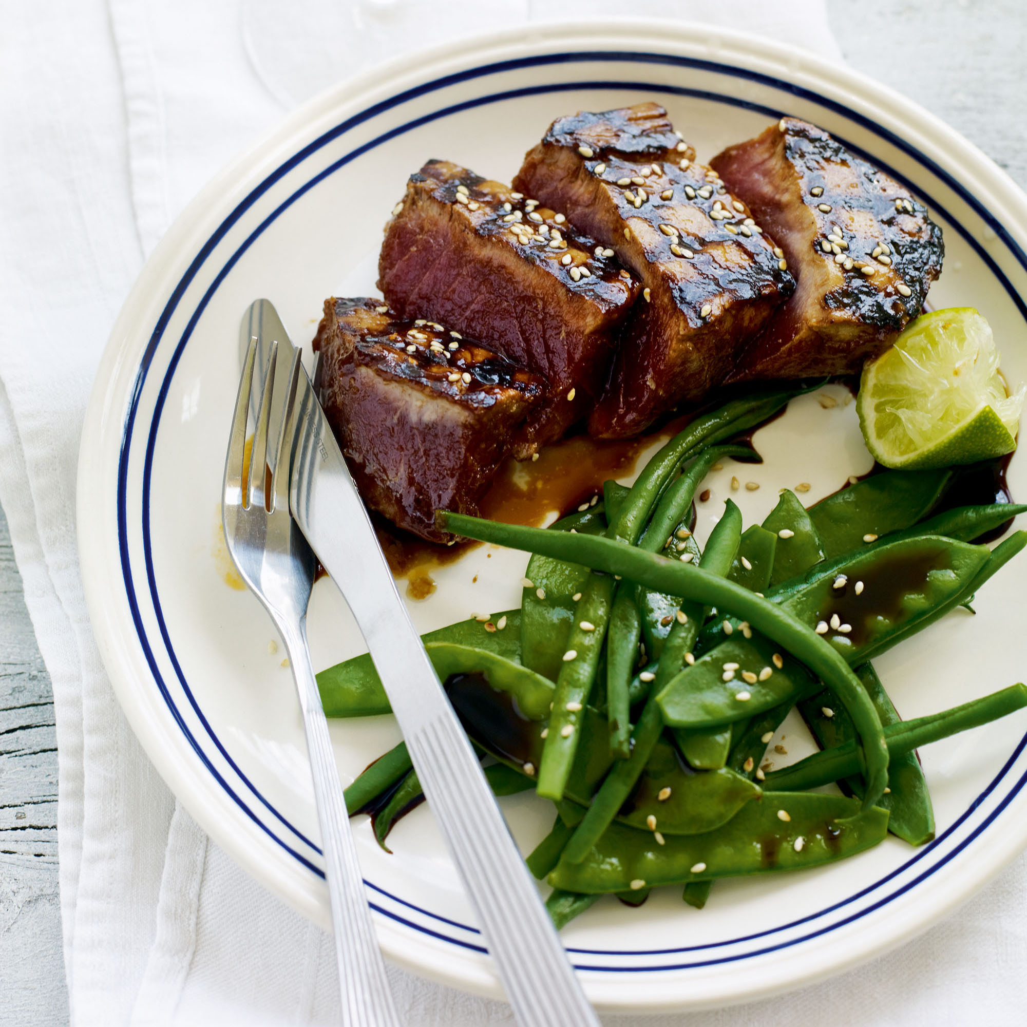 Sticky Hoisin Tuna Chinese Recipes Woman Home