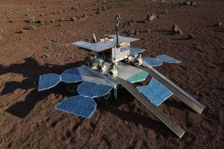 ESA Mars Rover Egress Test