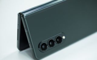 Samsung Galaxy Z Fold3 in Phantom Green