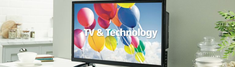 Aldi television and electricals