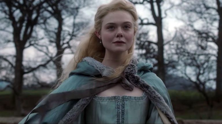 THE GREAT 2020 Elle Fanning as Catherine the Great in the TV series created by Tony McNamara