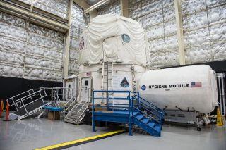 HERA at Houston's Johnson Space Center